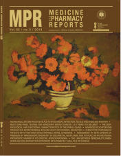 MPR 2019, volume 92, issue 2 - Cover - Painting by Stefan Luchian